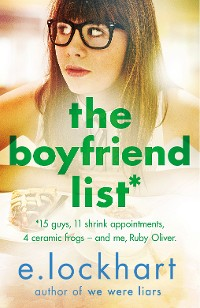 Cover Ruby Oliver 1: The Boyfriend List