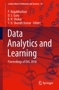 Cover Data Analytics and Learning