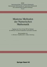 Cover Moderne Methoden der Numerischen Mathematik