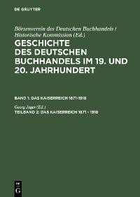 Cover Das Kaiserreich 1871 - 1918