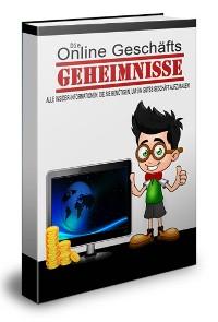 Cover Online Geschäfts-Geheimnisse
