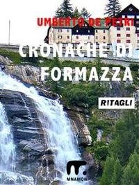 Cover Cronache di Formazza