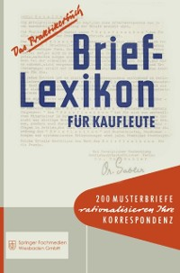Cover Brief-Lexikon fur Kaufleute