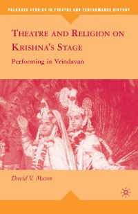 Cover Theatre and Religion on Krishna's Stage