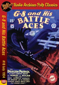 Cover G-8 and His Battle Aces #10 July 1934 Th