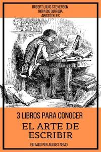 Cover 3 Libros para Conocer El arte de escribir