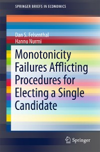 Cover Monotonicity Failures Afflicting Procedures for Electing a Single Candidate