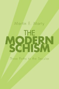 Cover The Modern Schism