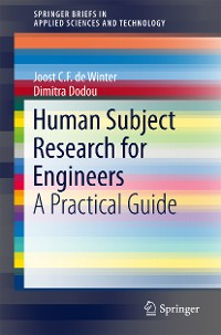 Cover Human Subject Research for Engineers