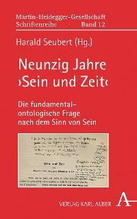 Cover Neunzig Jahre 'Sein und Zeit'