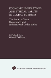 Cover Economic Imperatives and Ethical Values in Global Business