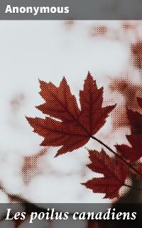 Cover Les poilus canadiens