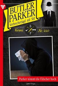 Cover Butler Parker 220 – Kriminalroman