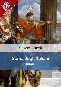 Cover Storia degli italiani