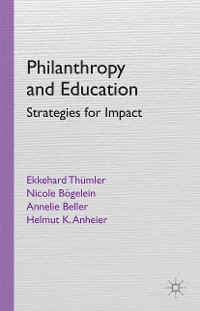 Cover Philanthropy and Education