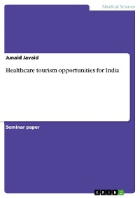 Cover Healthcare tourism opportunities for India