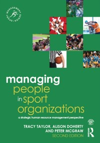 Cover Managing People in Sport Organizations