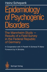 Cover Epidemiology of Psychogenic Disorders