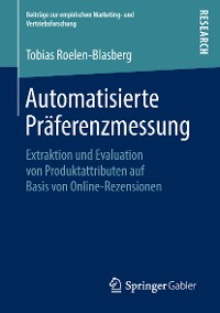 Cover Automatisierte Präferenzmessung