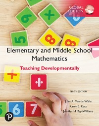 Cover Elementary and Middle School Mathematics: Teaching Developmentally, Global Edition
