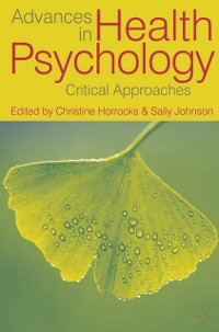 Cover Advances in Health Psychology