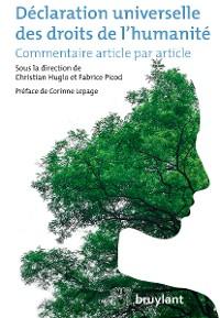 Cover Déclaration universelle des droits de l'humanité