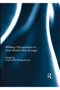 Cover Military Occupations in First World War Europe