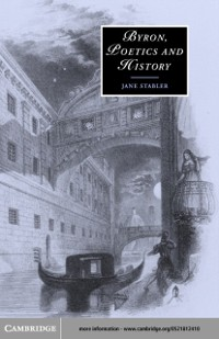 Cover Byron, Poetics and History