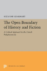 Cover The Open Boundary of History and Fiction