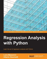 Cover Regression Analysis with Python