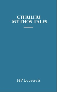 Cover Cthulhu Mythos Tales