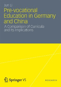 Cover Pre-vocational Education in Germany and China