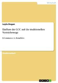 Cover Einfluss der LCC auf die traditionellen Vertriebswege