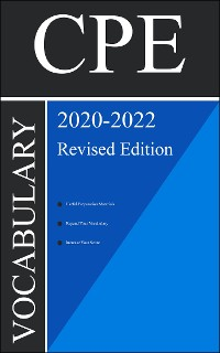 Cover CPE Test Vocabulary 2020 Second Edition