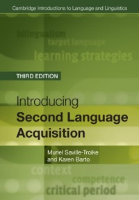Cover Introducing Second Language Acquisition