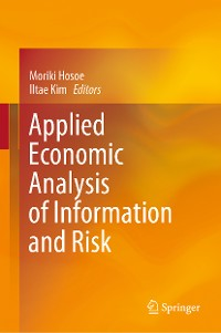 Cover Applied Economic Analysis of Information and Risk