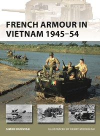 Cover French Armour in Vietnam 1945 54