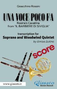 Cover (Score) Una voce poco fa - Soprano & Woodwind Quintet