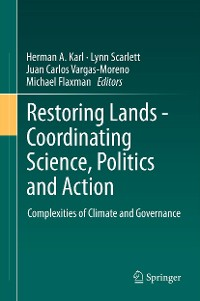 Cover Restoring Lands - Coordinating Science, Politics and Action