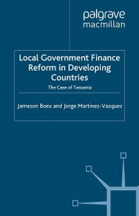 Cover Local Government Financial Reform in Developing Countries