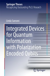 Cover Integrated Devices for Quantum Information with Polarization Encoded Qubits