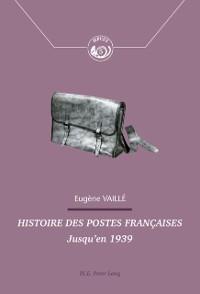 Cover Histoire des postes francaises