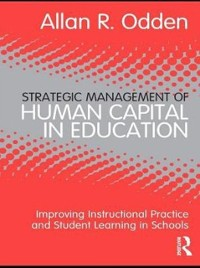 Cover Strategic Management of Human Capital in Education