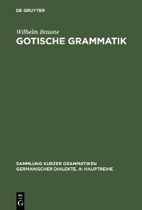 Cover Gotische Grammatik