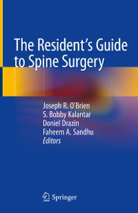 Cover The Resident's Guide to Spine Surgery