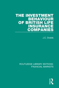 Cover Investment Behaviour of British Life Insurance Companies