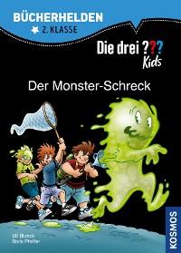 Cover Die drei ??? Kids, Bücherhelden, Der Monster-Schreck (drei Fragezeichen Kids)