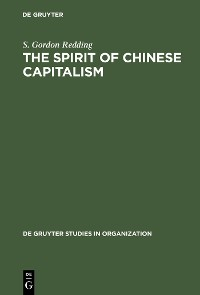 Cover The Spirit of Chinese Capitalism