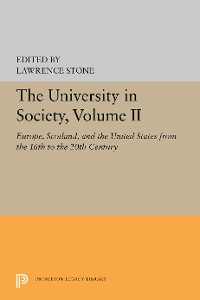 Cover The University in Society, Volume II
