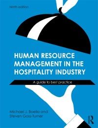 Cover Human Resource Management in the Hospitality Industry